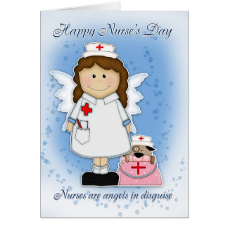 Nurse s Day Card - Angels In Disguise