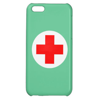 Nurse Scrubs Green iPhone 5C Cover