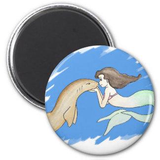Nurse Shark Mermaid Magnet