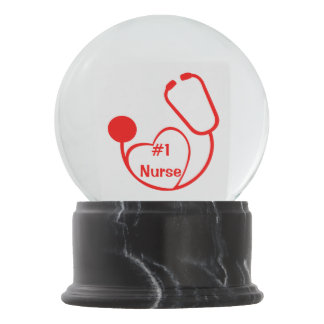 Nurse Snow Globes