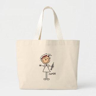 Nurse Stick Figure Bag