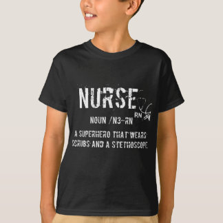 Nurse superhero edition tshirt