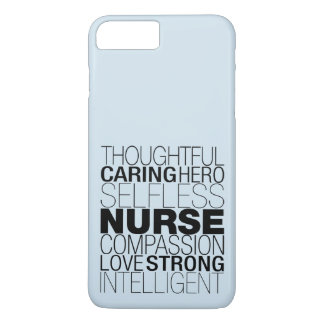 Nurse Text iPhone 8 Plus/7 Plus Case