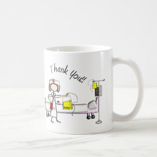 "Nurse ""Thank You"" Gifts Basic White Mug"