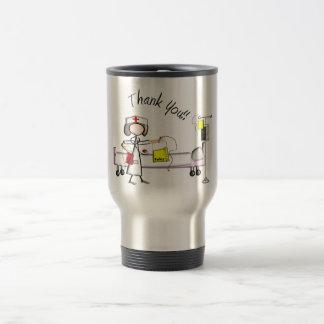 "Nurse ""Thank You"" Gifts Travel Mug"