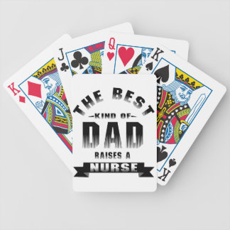 Nurse, the best kind of dad bicycle playing cards