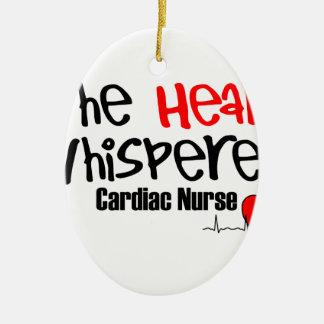 Nurse the heart whisperer ceramic oval decoration