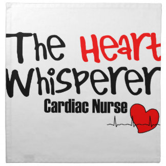 Nurse the heart whisperer napkin