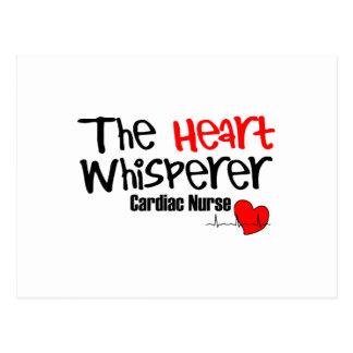 Nurse the heart whisperer postcard