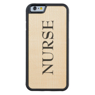 Nurse wooden phone case