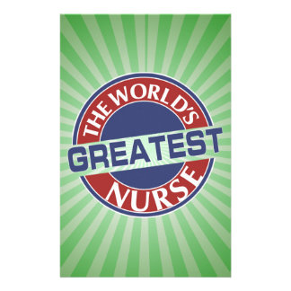 NURSE WORLDS GREATEST 40X40 STATIONERY