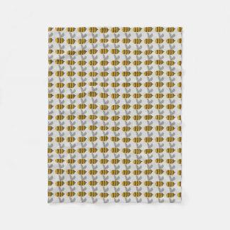 Nursery Blanket - Busy Bumble Bee