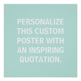 Nursery Decor, Personalised Quote, Custom Poster