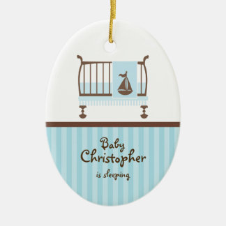 Nursery Door Hanger Ceramic Ornament