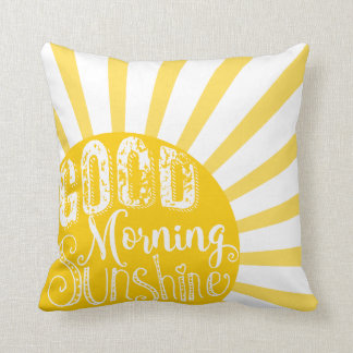 Nursery good morning sunshine pillow newborn decor