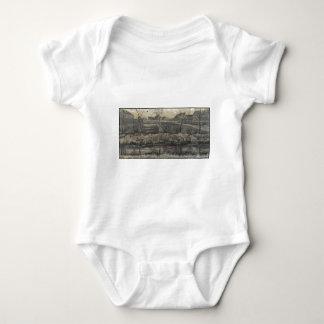 Nursery on the street baby bodysuit