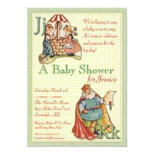 Nursery rhyme baby shower invitations announcements zazzle nursery rhyme baby shower invitation filmwisefo