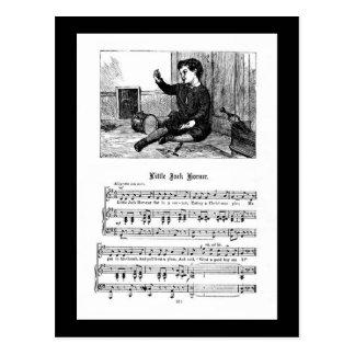 Nursery Rhyme Jack Korner Postcard