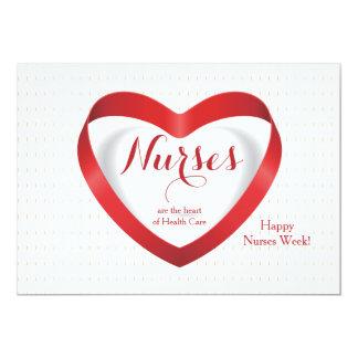 Nurses Are...Happy Nurses Day Card 13 Cm X 18 Cm Invitation Card