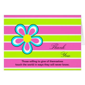Nurses Day Card -- Floral