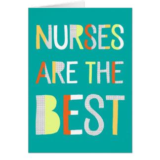 Nurses Day Card - Text Design
