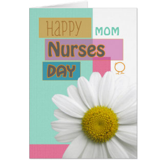 Nurses Day for Mom, Sister, etc, Daisy Scrapbook Card