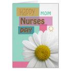 Nurses Day for Mum, Sister, etc, Daisy Scrapbook Card