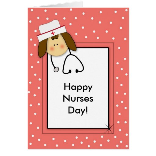 Nurses day Paper Greeting Card