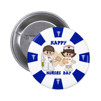 Nurses Day Standard, 2¼ Inch Round Button