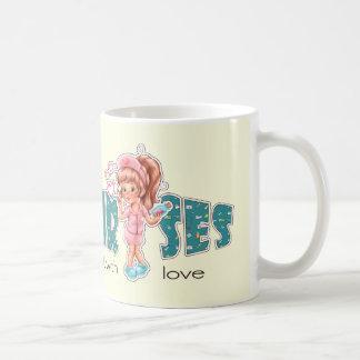 Nurses do it with Love. Nurses Day Gift Mug