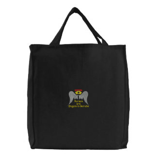 Nurses Embroidered Bag