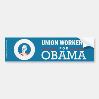 Nurses for Obama Bumper Sticker