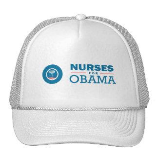 Nurses for Obama Hats