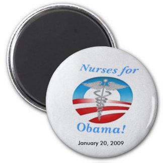 Nurses for Obama Magnet