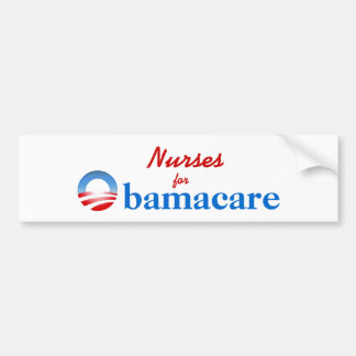 Nurses for Obamacare Bumper Sticker