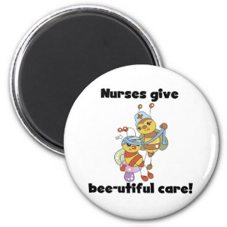 Nurses Give Bee-utiful Care Magnet