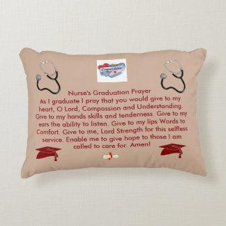 Nurse's Graduation Prayer Decorative Cushion
