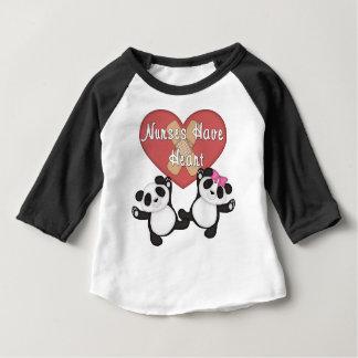 Nurses Have Heart Baby T-Shirt