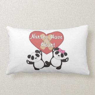 Nurses Have Heart Lumbar Pillow