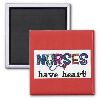 Nurses Have Heart Magnet