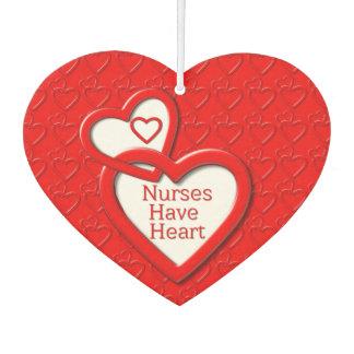 Nurses Have Heart Red Linked Hearts Nurses Day