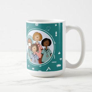Nurses heal the World. Gift  Mugs