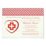 Nurse's Heart Graduation Invitation