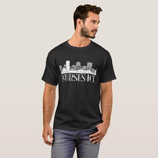 Nurses ICT Skyline (dark shirt) T-Shirt