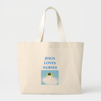 NURSES LARGE TOTE BAG