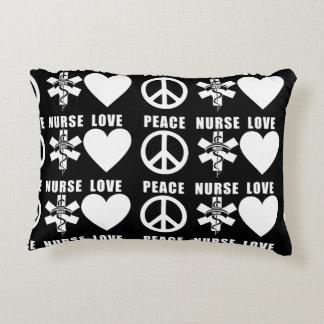 Nurses Love Peace Decorative Cushion