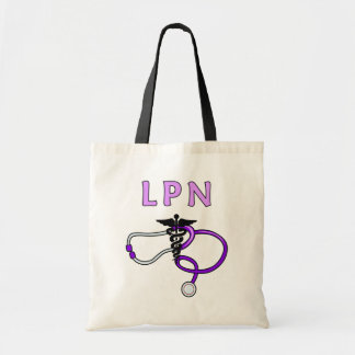 Nurses LPN Stethoscope Tote Bag