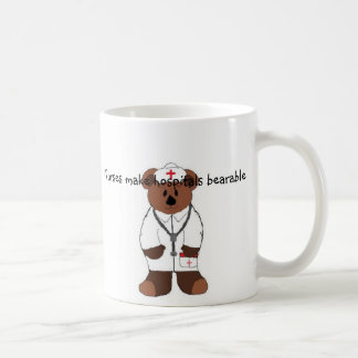 Nurses make hospitals... coffee mug