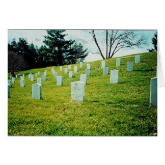 Nurses Memorial Arlington National Cemetery Card