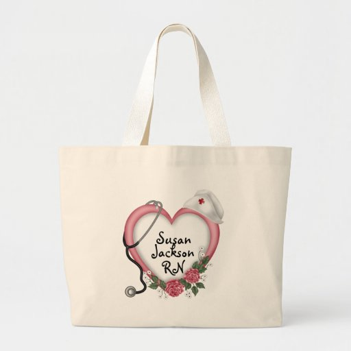 Nurses Personalized Tote Bags